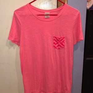 pink small t-shirt